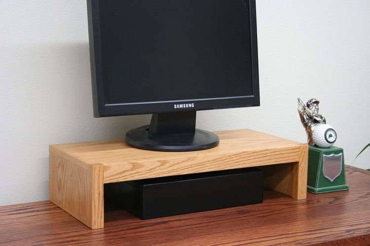 Wooden Monitor Stand